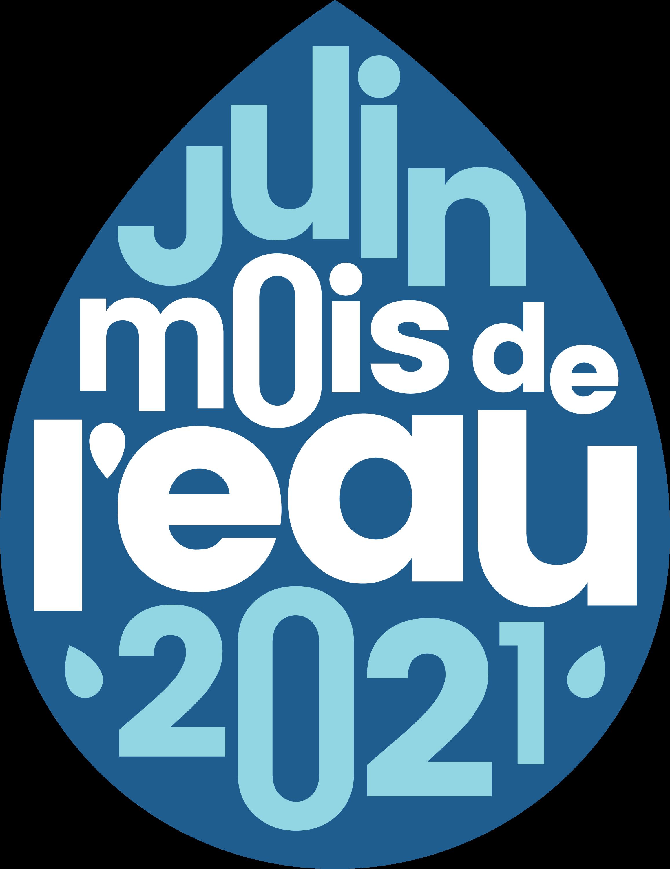 Symbole représentant le mois de l'eau 2021.