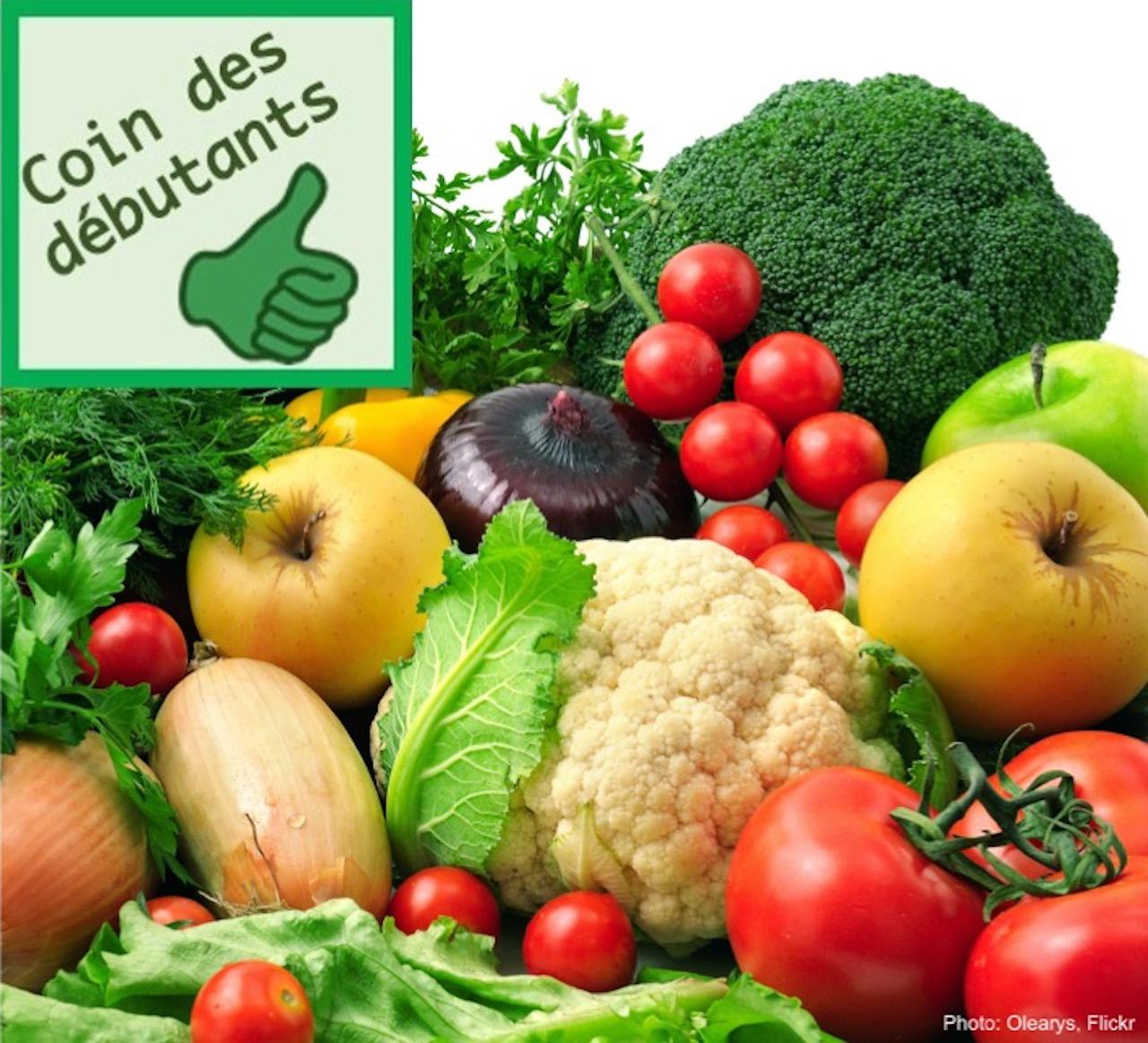 Légumes à maturité